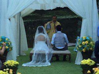 O casamento de Carol e Serginho