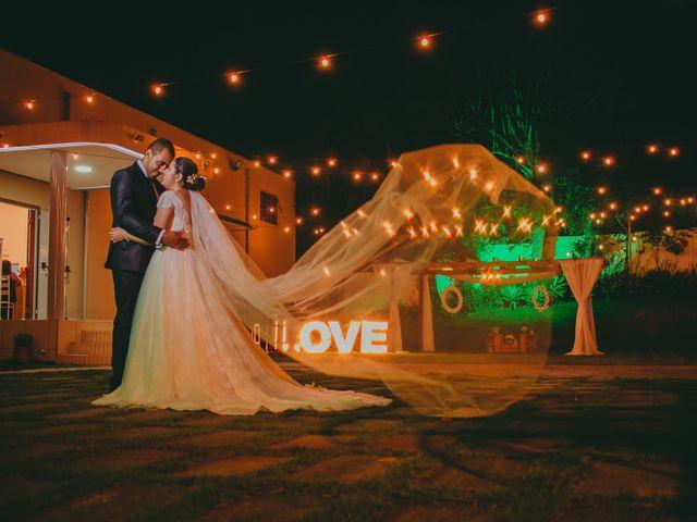 O casamento de Amanda e Eliezio