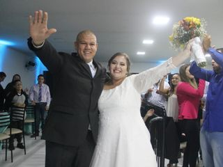 O casamento de Aline e Ruan