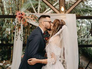 O casamento de Cleany e Savyon 1