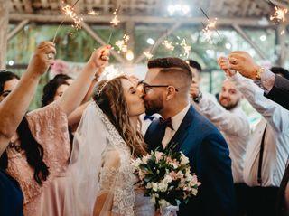 O casamento de Cleany e Savyon