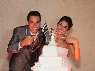 O casamento de Glayce e Leandro