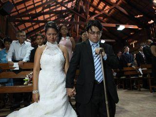 O casamento de Rafael e Tatyana