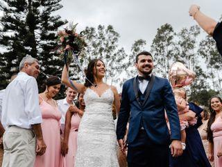 O casamento de Juliana e Jordan