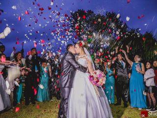 O casamento de Cindi e Anderson