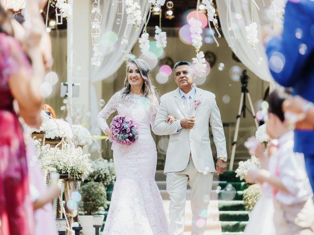 O casamento de Alesandra e João