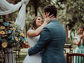 O casamento de Junior e Larissa