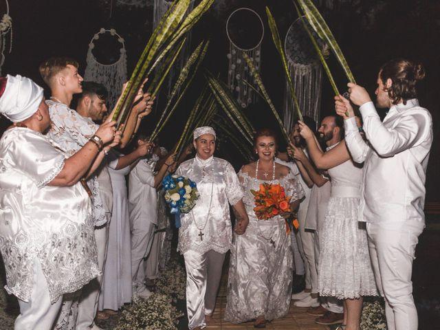 O casamento de Nêmora e Mara