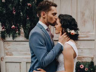 O casamento de Livia e Patrick