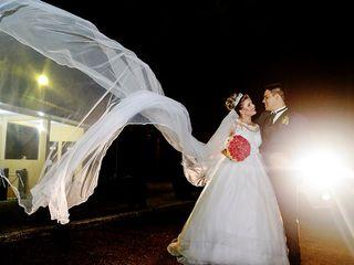 O casamento de Jucemara e Alessandro