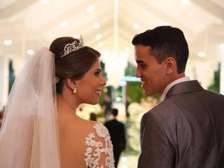 O casamento de Kamila e Filipe