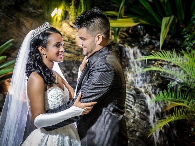 O casamento de Jisele e Willian