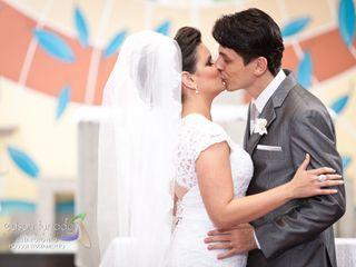 O casamento de Analine e Rodrigo