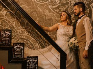 O casamento de Flavia e Wilian