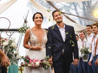 O casamento de Fernanda e João