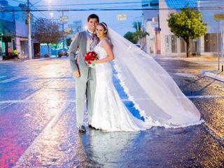 O casamento de Evelyn e Rivair