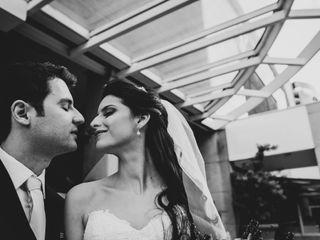 O casamento de Florence e Guilherme