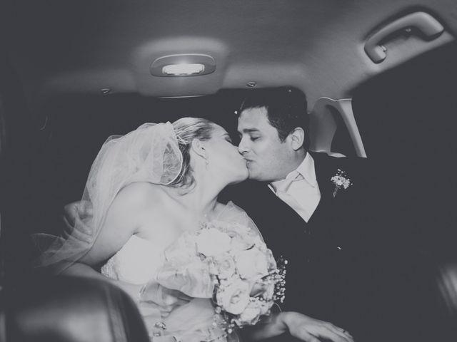 O casamento de Alessandra e Alexandre