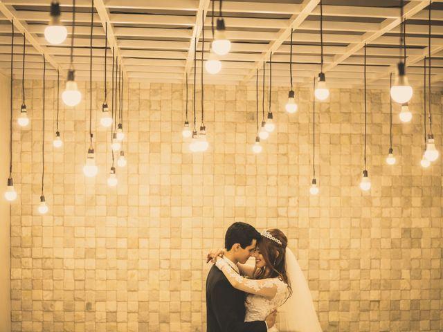 O casamento de Letícia e Leandro