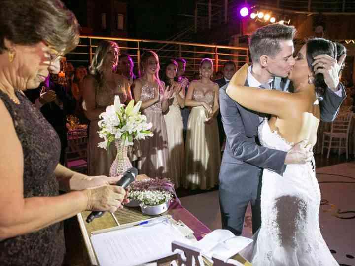 O casamento de Pri e Mauricio