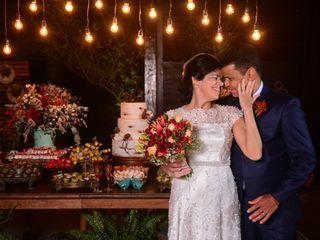 O casamento de Denise e Jair