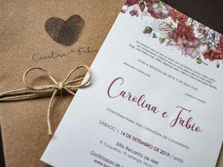 O casamento de Carol e Fabio 1