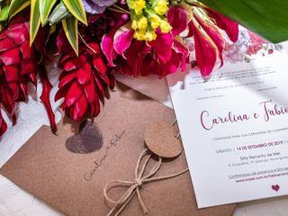 O casamento de Carol e Fabio 2