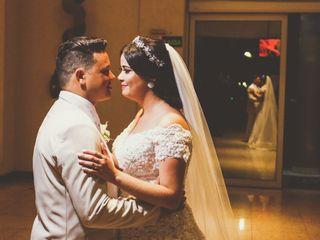 O casamento de Camila e Ismally