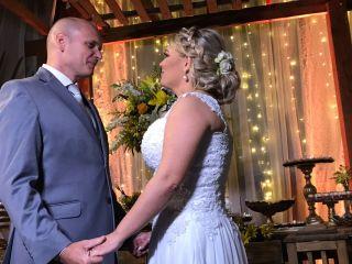 O casamento de Fabricia e Anderson
