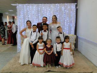 O casamento de Débora  e Francis