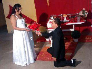 O casamento de Joana e Francisco