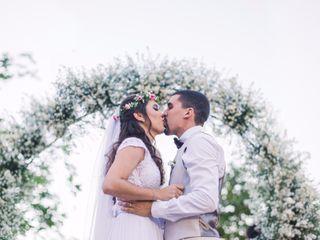 O casamento de Tácia e Vinícius