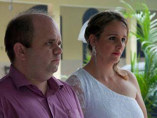 O casamento de Caroline e Sérgio