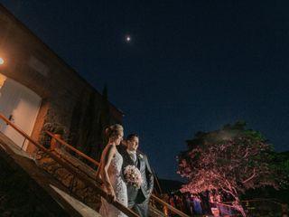 O casamento de Alexsandra e Júlio
