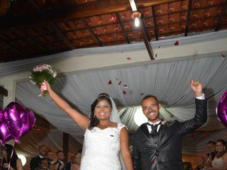 O casamento de Aline e Daniel