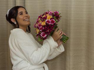 O casamento de Liliane e Andre