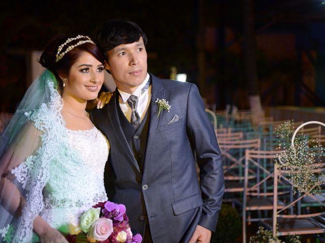O casamento de Rosana e Frederico
