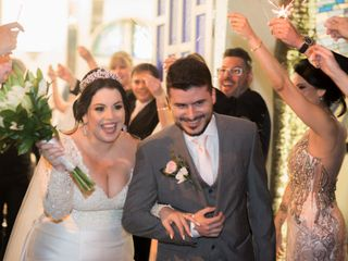 O casamento de Erika e Eduardo