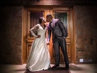 O casamento de Elaine e Denis