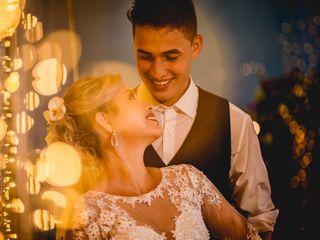 O casamento de Isabele e Jonas