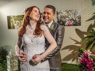 O casamento de Priscilla e Roberto