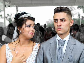 O casamento de Bruna e Michel