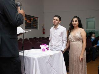 O casamento de Evaniele e Wagner