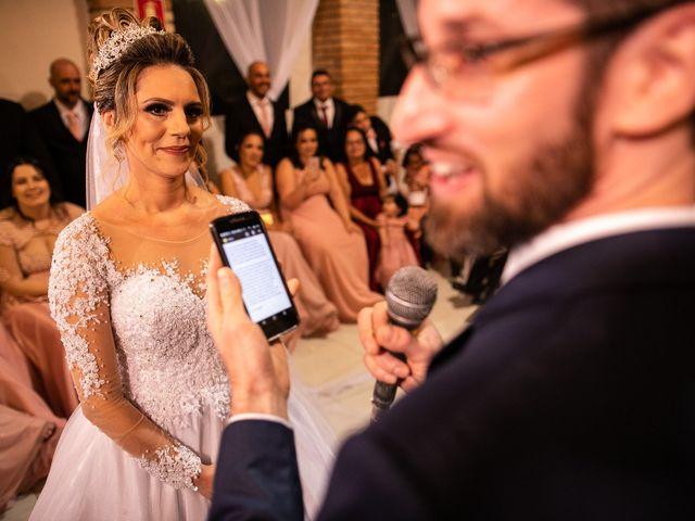 O casamento de Alessandra e Franklin
