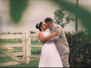 O casamento de Fabiana e Salvador Júnior