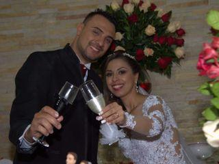 O casamento de Erika e Elder
