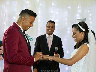 O casamento de Danielle e Claudinei
