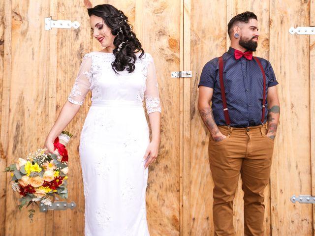 O casamento de Jaqueline e Joe