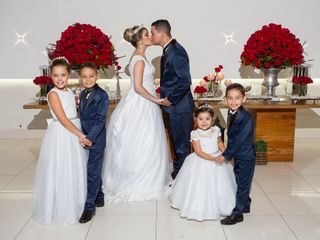 O casamento de Erica e William