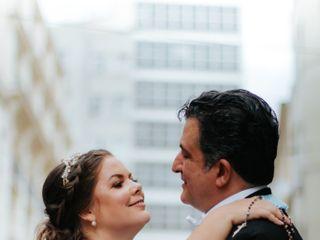 O casamento de Elaine e Alexandre